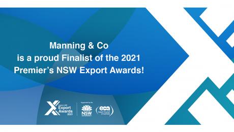 2021 NSW Premier's Export Awards | M&C Agency Achievement